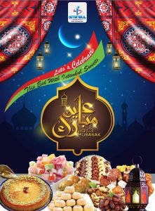 Istanbul Supermarket Eid promotion leaflet cover page