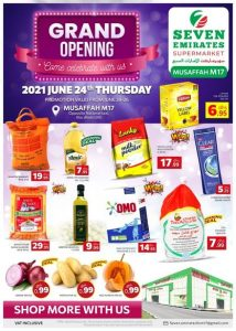 Seven Emirates Grand Opening Sale