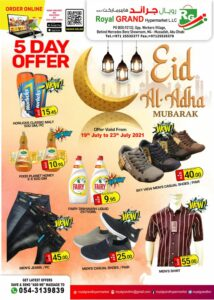 Royal Grand Hypermarket Five Day Eid offers