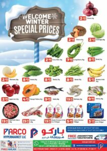 Parco Hypermarket Winter special prices